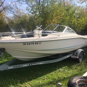 Used Ez Loader 20' trailer w/brakes Other Boat For Sale