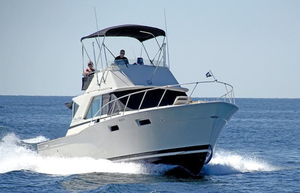 Used Chris Craft 35 Commander Sports Fishing Boat For Sale