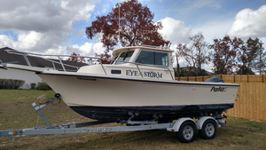 Used Parker 2120 Sport Cabin Saltwater Fishing Boat For Sale