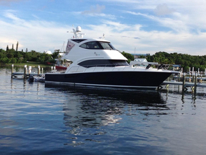 Used Riviera 53 Enclosed Flybridge Boat For Sale