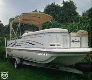 Used Hurricane FD 238 REF Deck Boat For Sale
