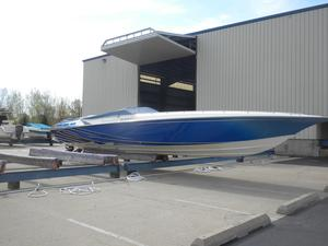 Used Fountain 42 Lightning Cruiser Boat For Sale