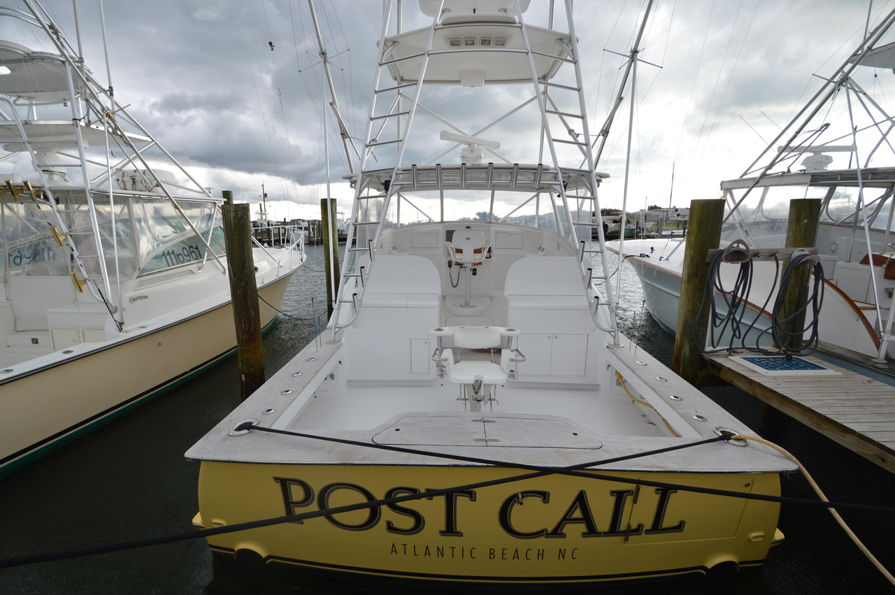 2006 used custom carolina express sports fishing boat for for Express fishing boats