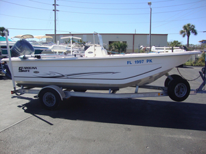 Used Carolina Skiff DLV198 Center Console Fishing Boat For Sale