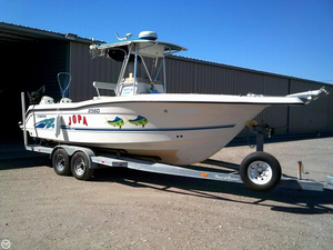 Used Stratos 2560 Center Console Fishing Boat For Sale