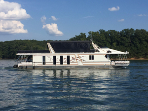 Used Horizon 17 X 75 Houseboat House Boat For Sale