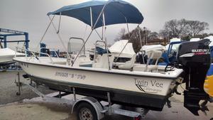 Used Twin Vee 19 Family Fisherman Power Catamaran Boat For Sale