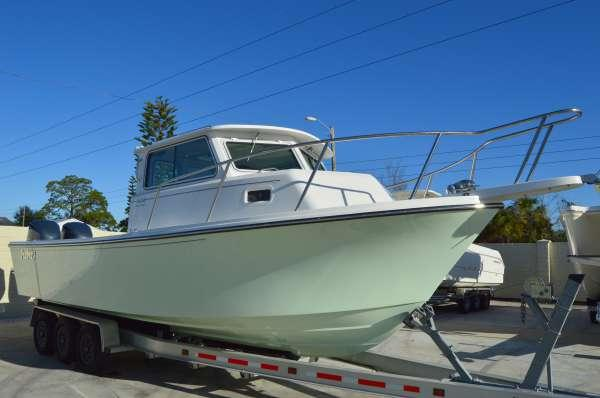 New Parker 2820 XLD Sport Cabin Pilothouse Boat For Sale