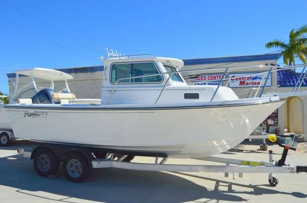 New Parker Boats 2120 Sport Cabin Pilothouse Boat For Sale