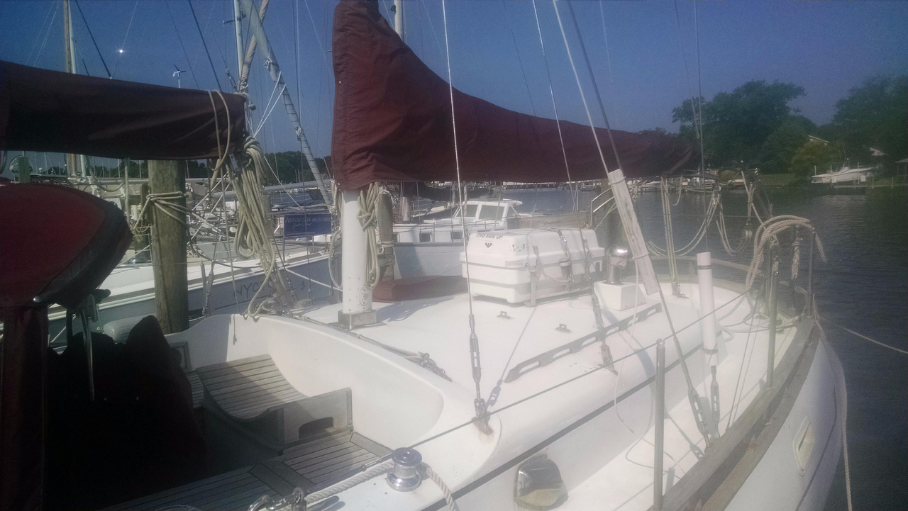 1978 used hardin 44 voyager ketch sailboat for sale