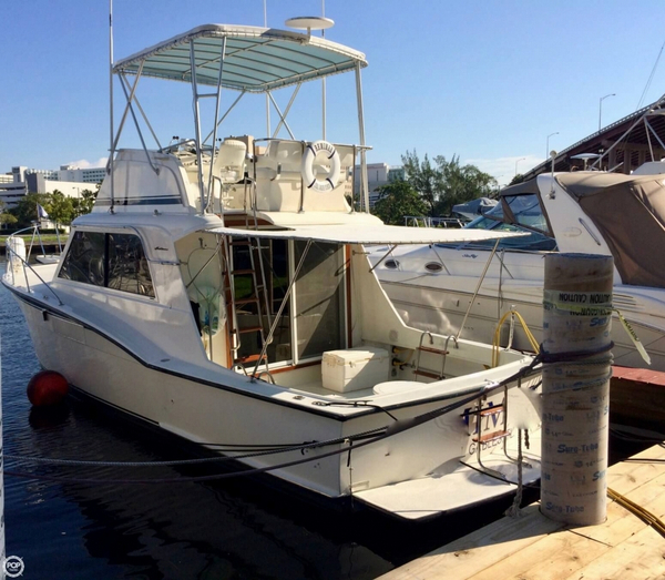 Used Hatteras 360 Convertible Sports Fishing Boat For Sale
