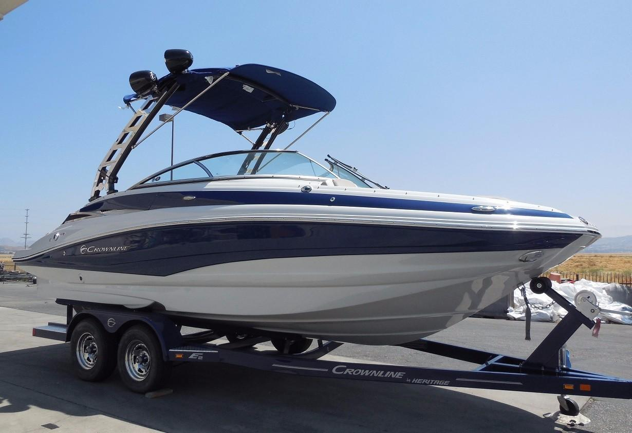 2017 new crownline e2e2 deck boat for sale