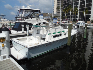 Used Albin 32 Command Bridge Downeast Fishing Boat For Sale