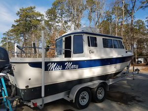 Used C-Dory 25 Cruiser Boat For Sale