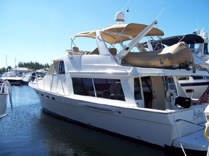 Used Meridian 490 Pilothouse Boat For Sale