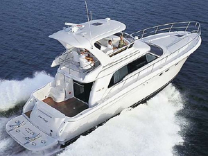 Used Sea Ray 480 Sedan Bridge Express Cruiser Boat For Sale