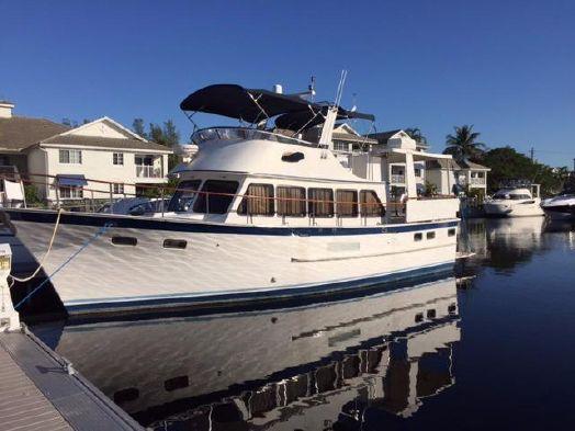 Used Defever Long Range Cruiser Trawler Boat For Sale