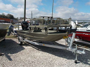 New White River Marine Group 1860 Sportsman Freshwater Fishing Boat For Sale