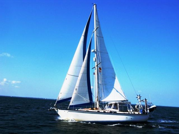 Used Brewer 12.8 Cutter Center Cockpit Sailboat For Sale