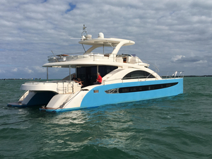 Used Rodriquez Power Cat Power Catamaran Boat For Sale