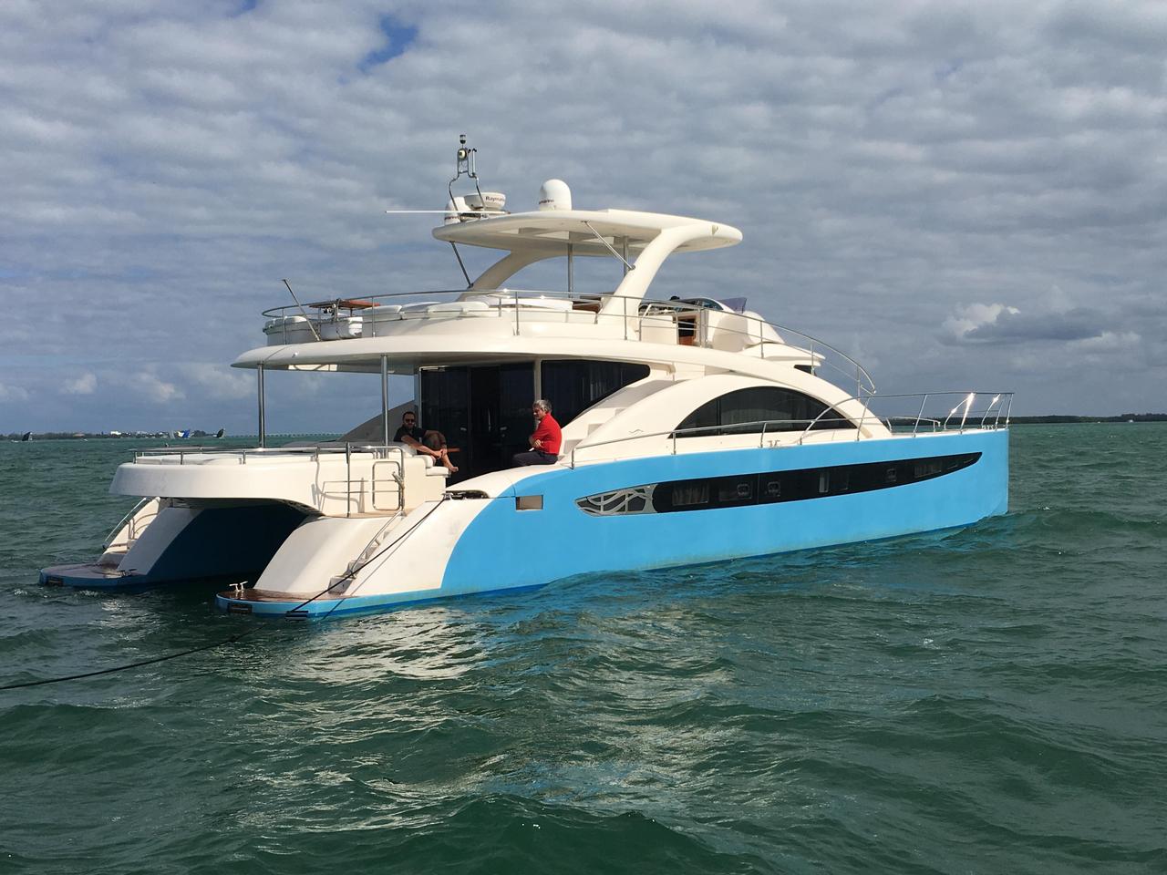 2007 Used Rodriquez Power Cat Power Catamaran Boat For ...  2007 Used Rodri...