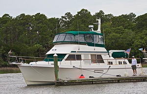 Used Ocean Alexander 423 Classico Aft Cabin Trawler Aft Cabin Boat For Sale