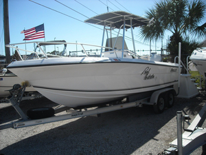 Used Angler 204F Center Console Fishing Boat For Sale