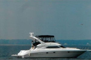 Used Sea Ray 450 Express Bridge Motor Yacht For Sale