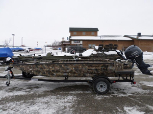 New Excel Boats 1860VF4-G Jon Boat For Sale