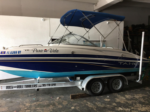 Used Tahoe 216 I/O Center Console Fishing Boat For Sale