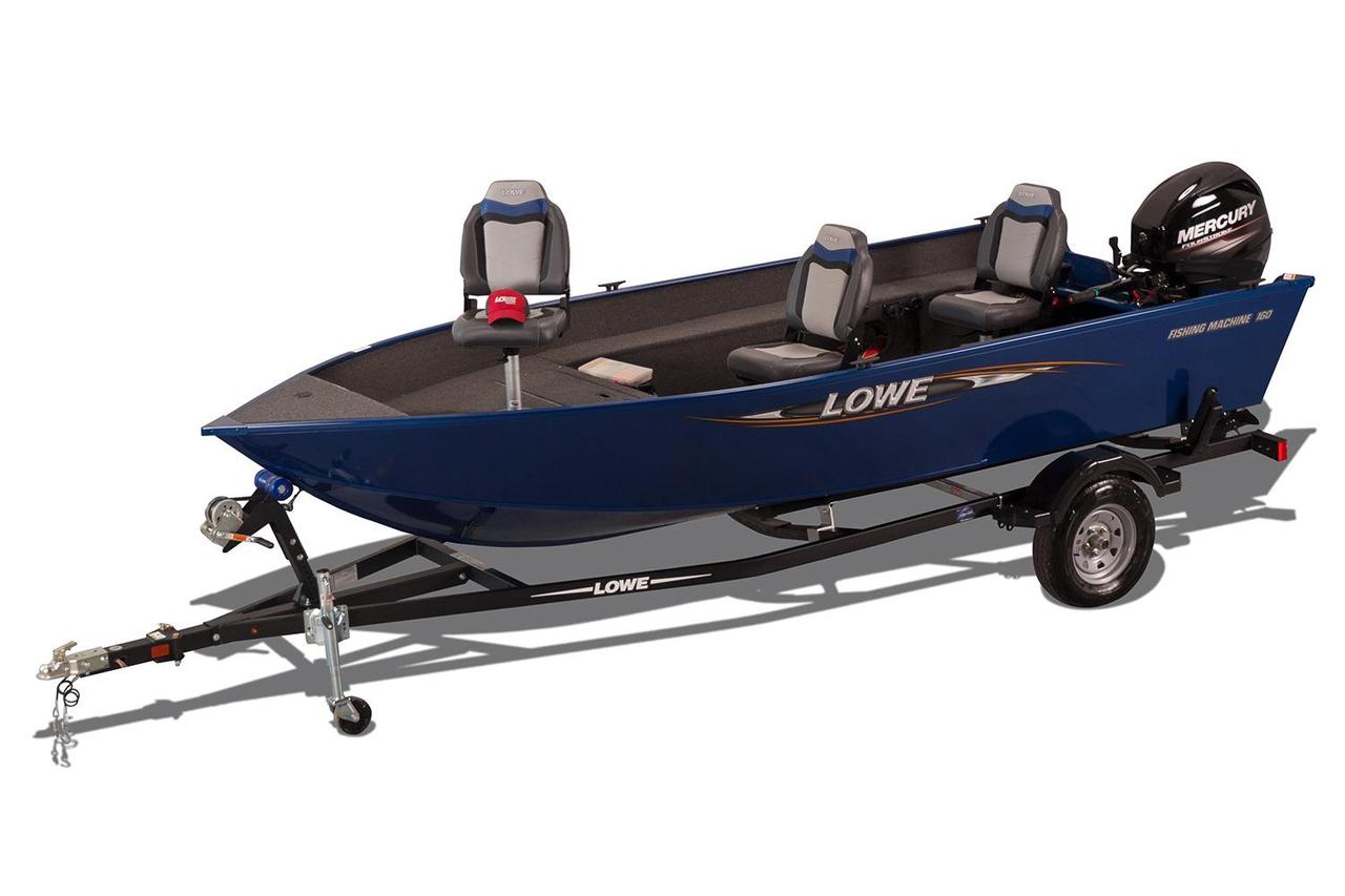 2017 New Lowe Fm 160 T Aluminum Fishing Boat For Sale