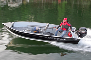 New Lund 1600 Fury Tiller Freshwater Fishing Boat For Sale