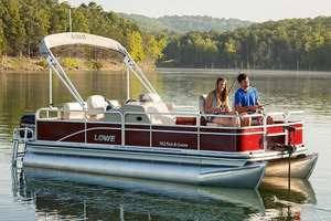 New Lowe Ultra 182 Fish & Cruise Pontoon Boat For Sale