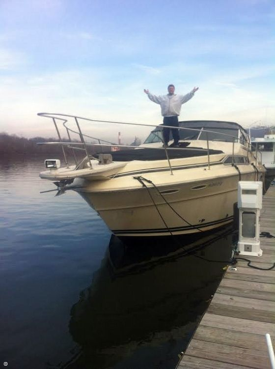Used Sea Ray 360 Vanguard Express Cruiser Boat For Sale