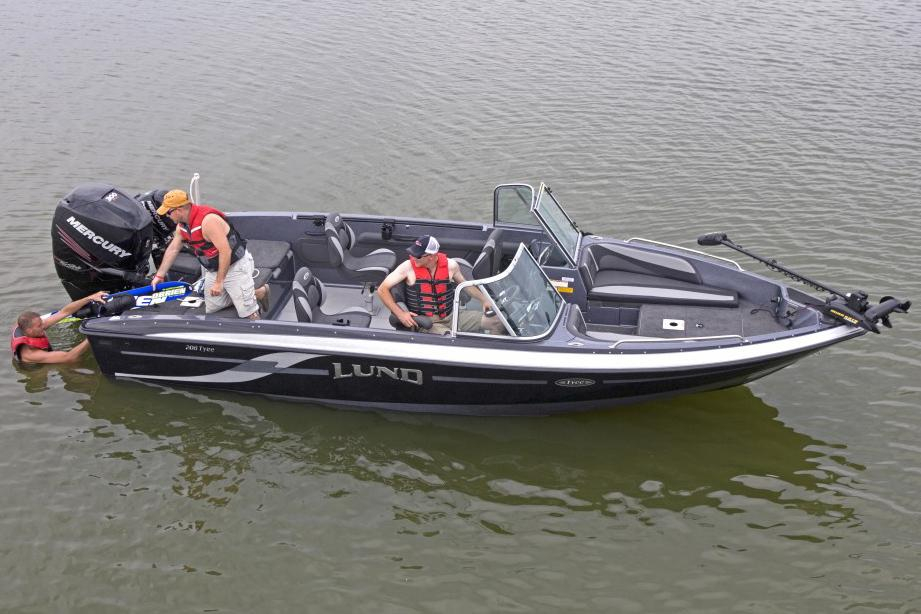 2017 New Lund 208 Tyee GL Freshwater Fishing Boat For Sale