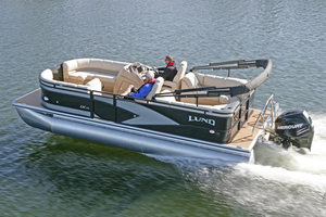 New Lund LX220 Pontoon Boat For Sale