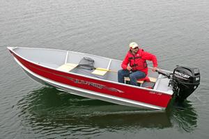 New Lund SSV-14 Tiller Utility Boat For Sale