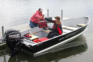New Lund SSV-16 Tiller Utility Boat For Sale