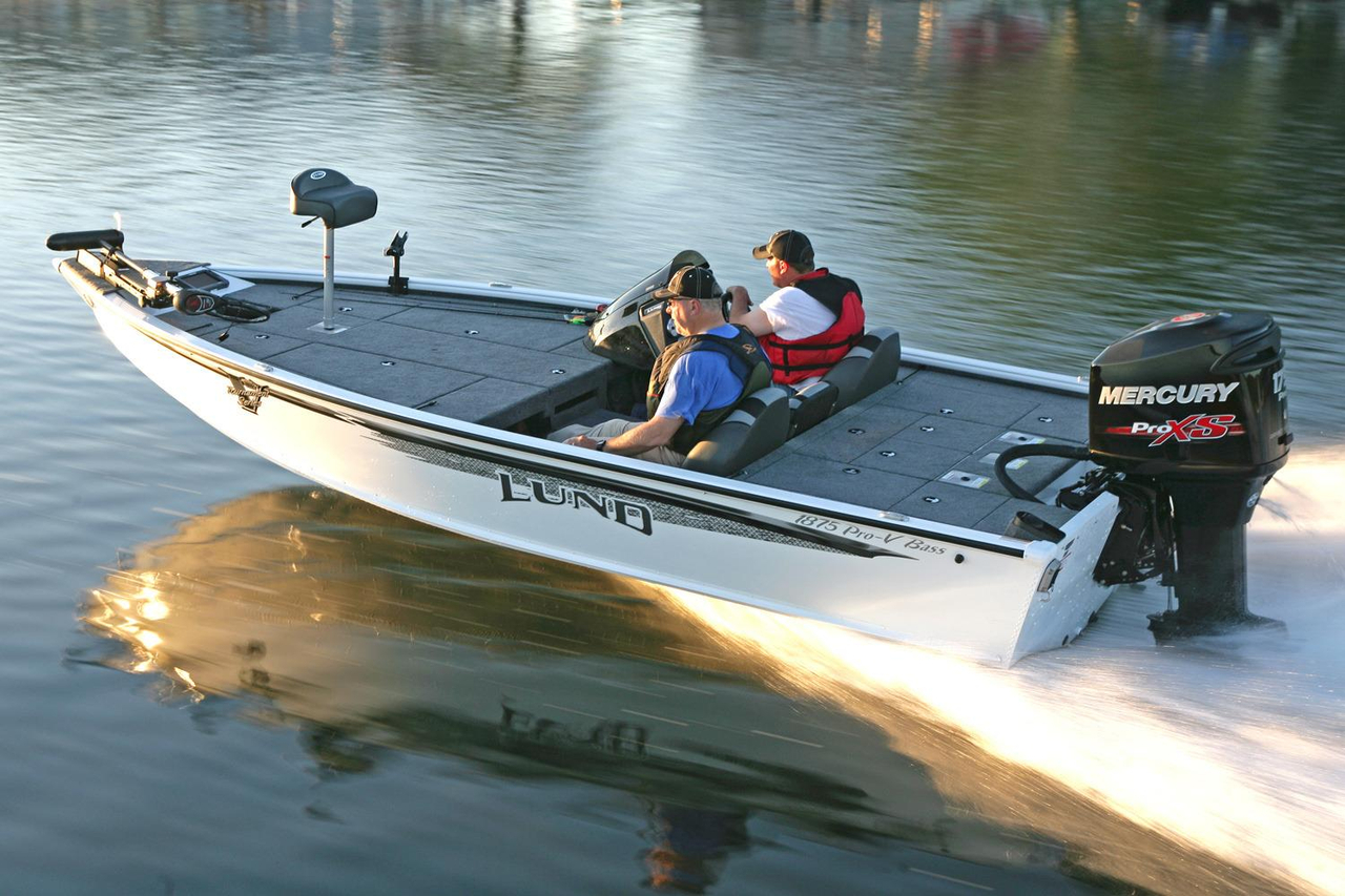 2017 new lund 1875 pro v bass boat for sale coldwater for Bass pro fishing sale