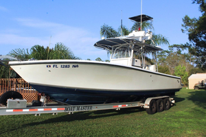 Used Sea Vee 340I Saltwater Fishing Boat For Sale