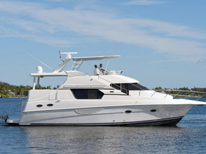 Used Silverton 453 Flybridge Boat For Sale