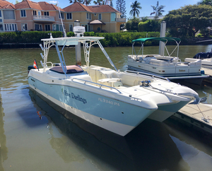 Used World Cat 270 SD Saltwater Fishing Boat For Sale