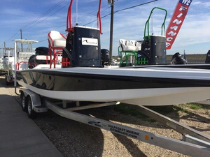 New Tiburon ZX 25 Flats Fishing Boat For Sale