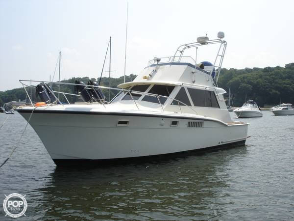 Used Hatteras 38 Sport Fisherman Sports Fishing Boat For Sale