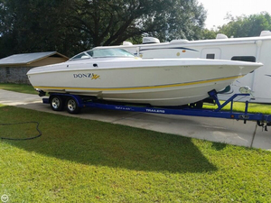 Used Donzi 28ZX High Performance Boat For Sale