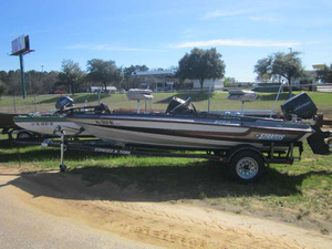 Used Stratos 258 Bass Boat For Sale