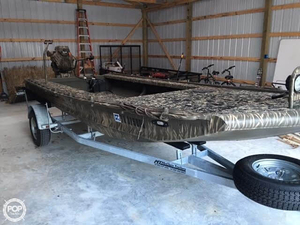 Used Gator Trax Genn II 3 Man Aluminum Fishing Boat For Sale