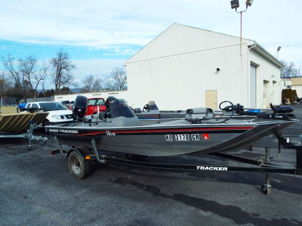 Used Tracker Pro 165 Bass Boat For Sale