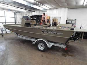 New Rock Proof RIVER JETT 1860RIVER JETT 1860 Bass Boat For Sale