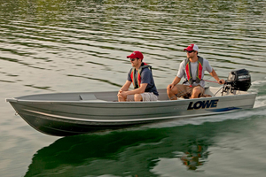 New Lowe 1457 Utility V Utility Boat For Sale